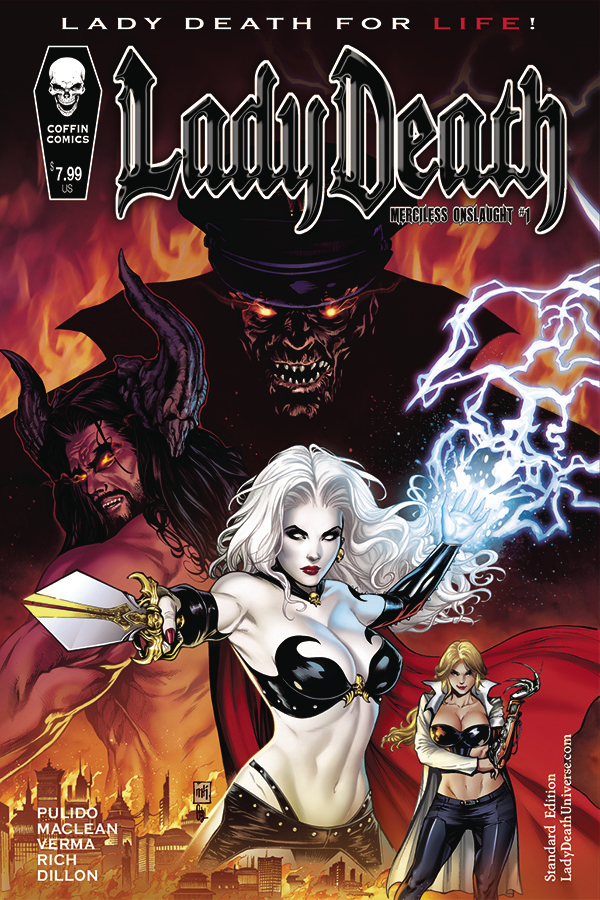 Lady Death: Merciless Onslaught no. 1 (2019 Series) (MR)