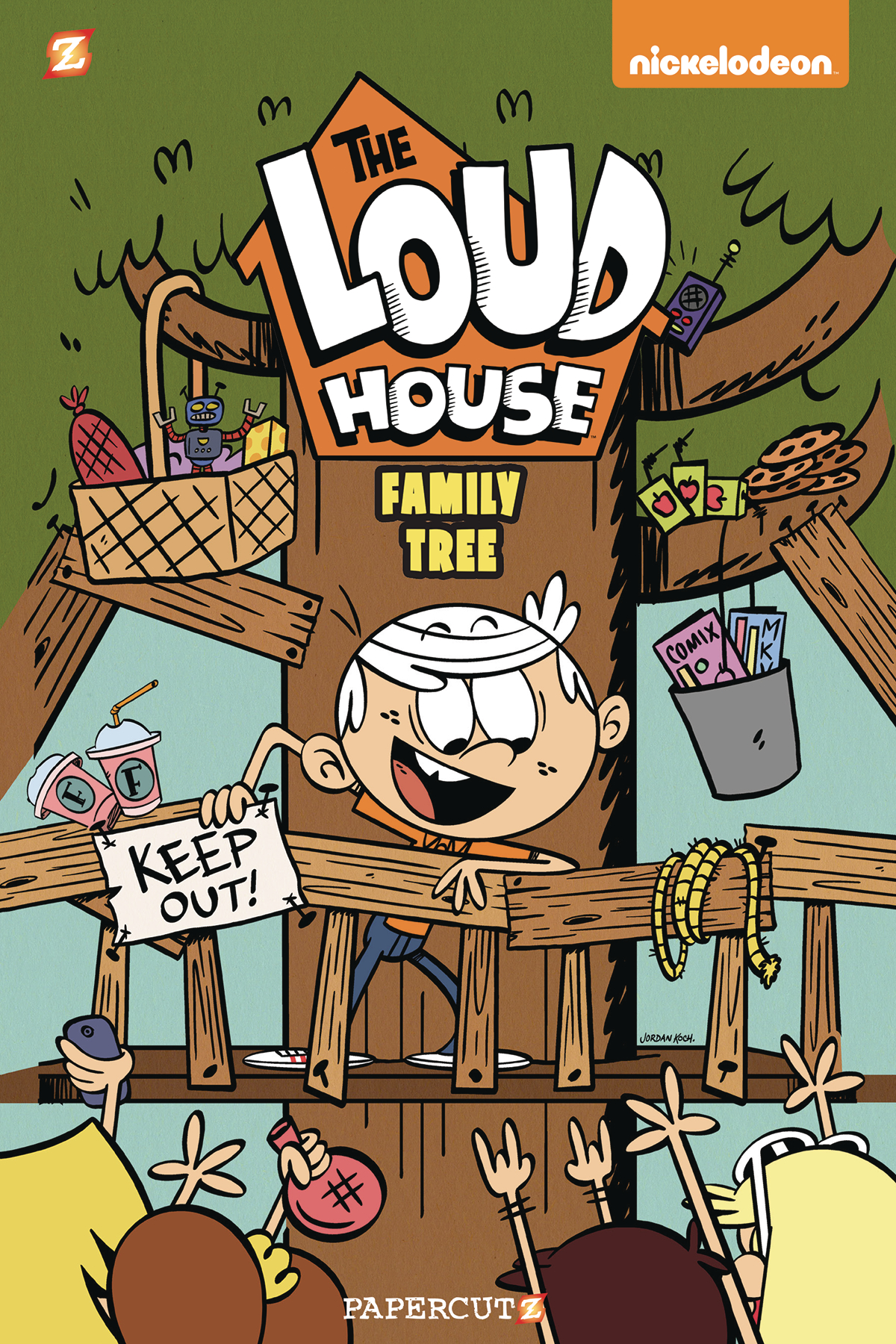 Loud House Volume 4: Family Tree TP