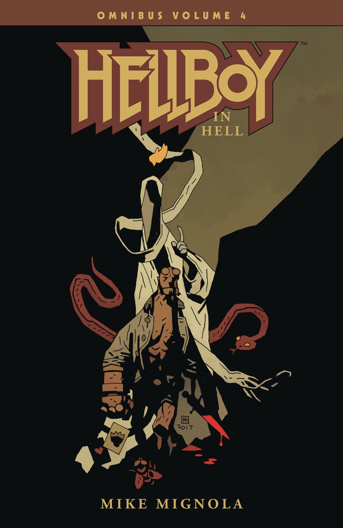 Hellboy Omnibus Volume 4: Hellboy in Hell TP