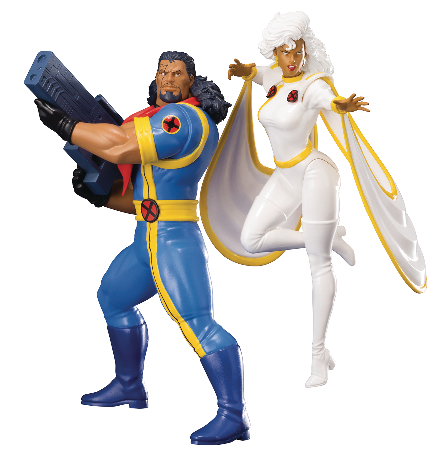 Marvel Universe: X-Men 92 Bishop and Storm 2 Pack ArtFX Statue