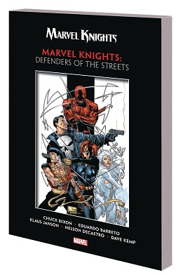 Marvel Knights: Defenders of the Streets TP