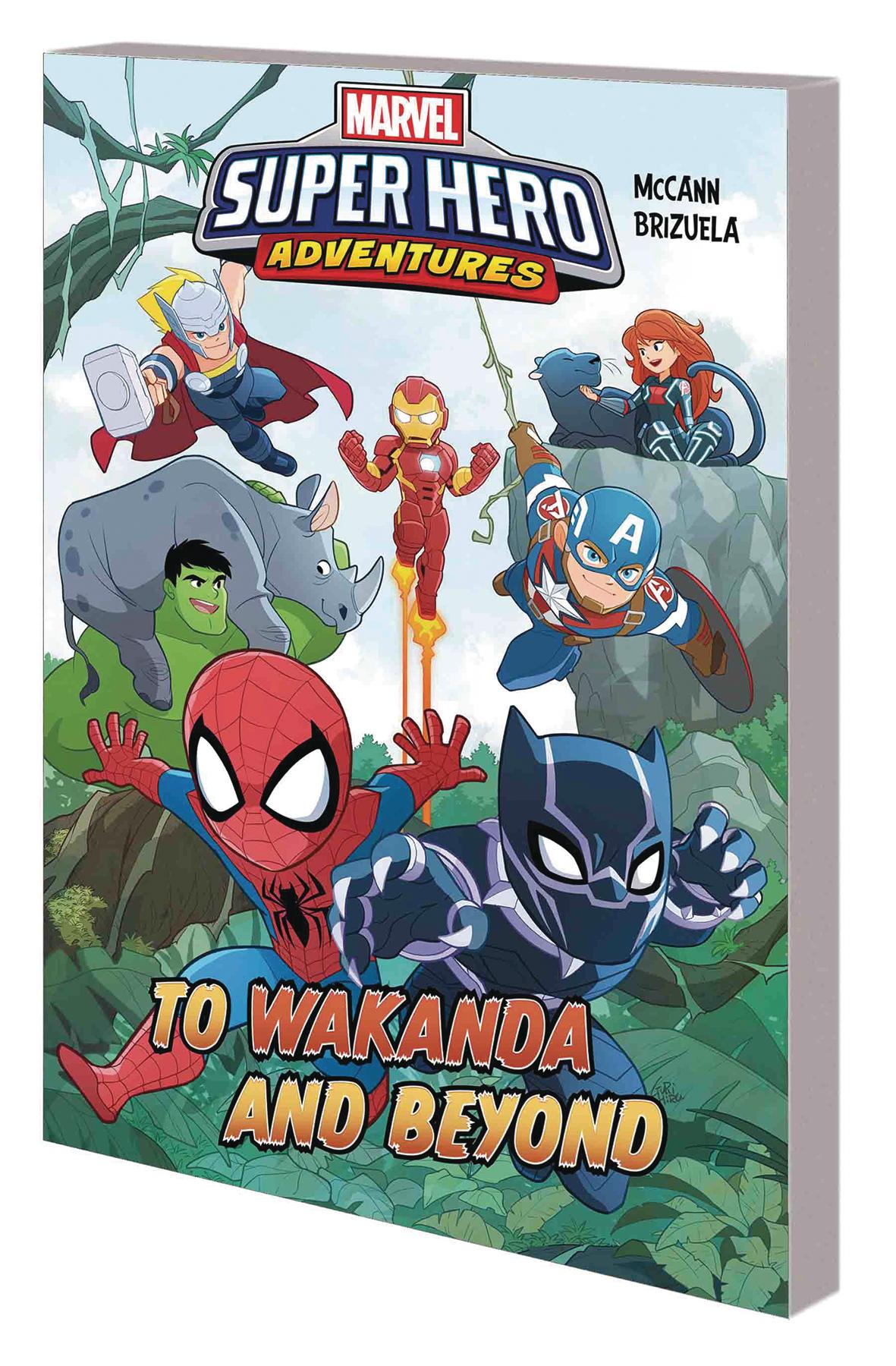 Marvel Superhero Adventures HC To Wakanda and Beyond
