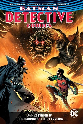 Detective Comics: Batman Book 3 HC (Rebirth Deluxe Collection)