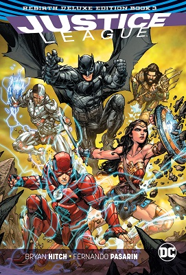 Justice League: Rebirth Deluxe: Volume 3 HC