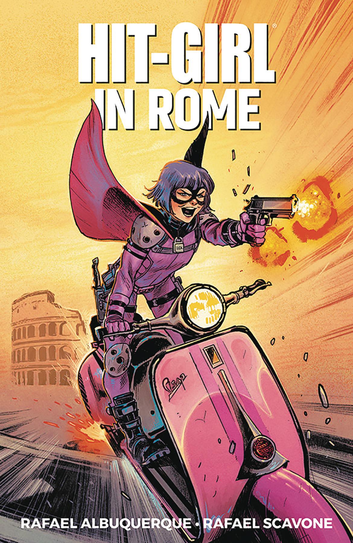 Hit Girl: Volume 3: Rome TP (MR)