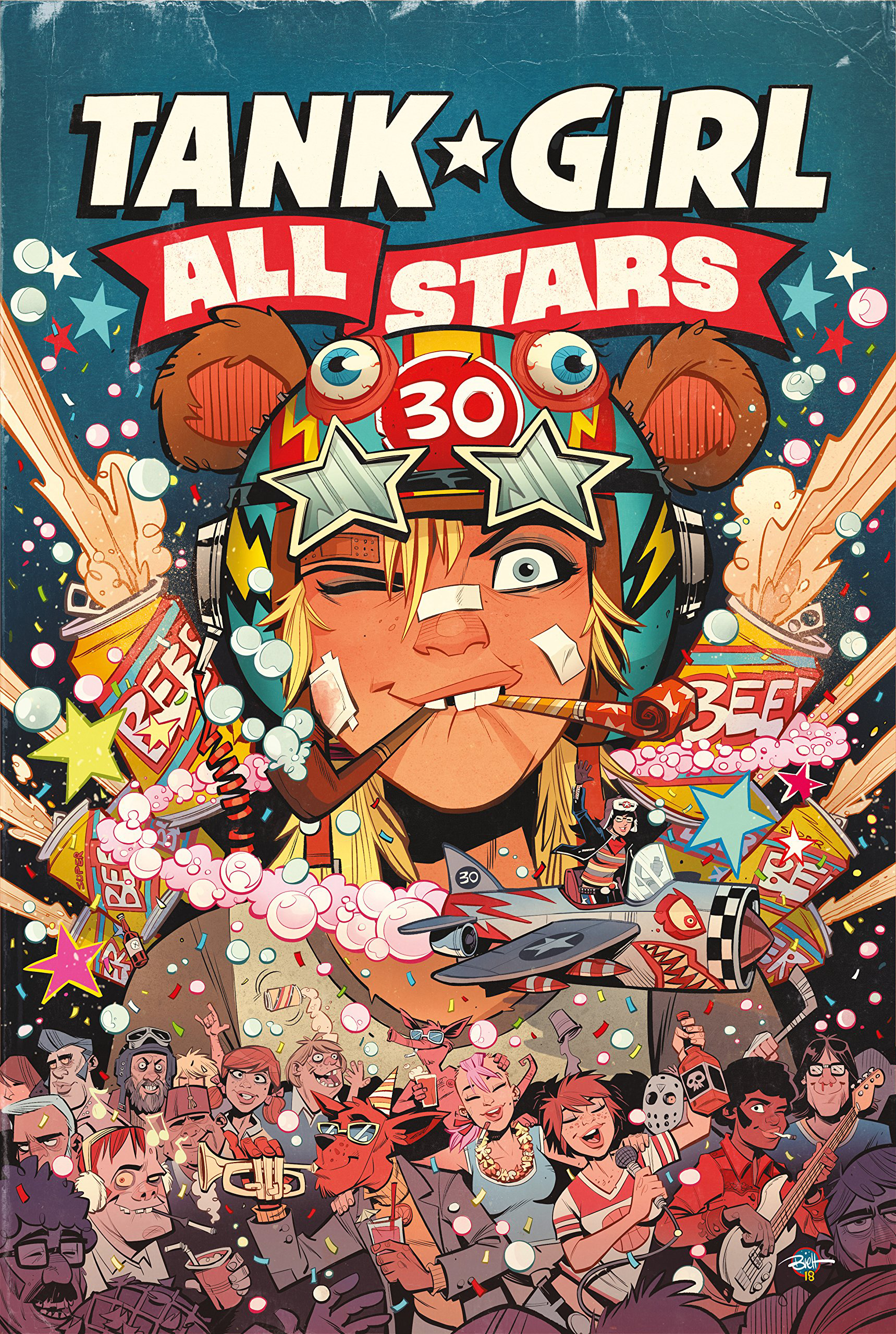 Tank Girl: All Stars HC (MR)