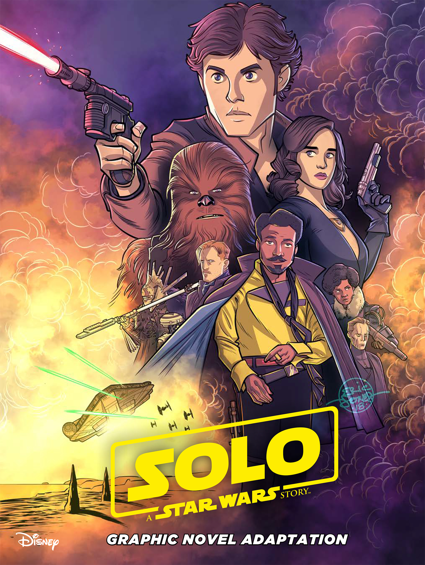 Star Wars: Solo Graphic Novel TP