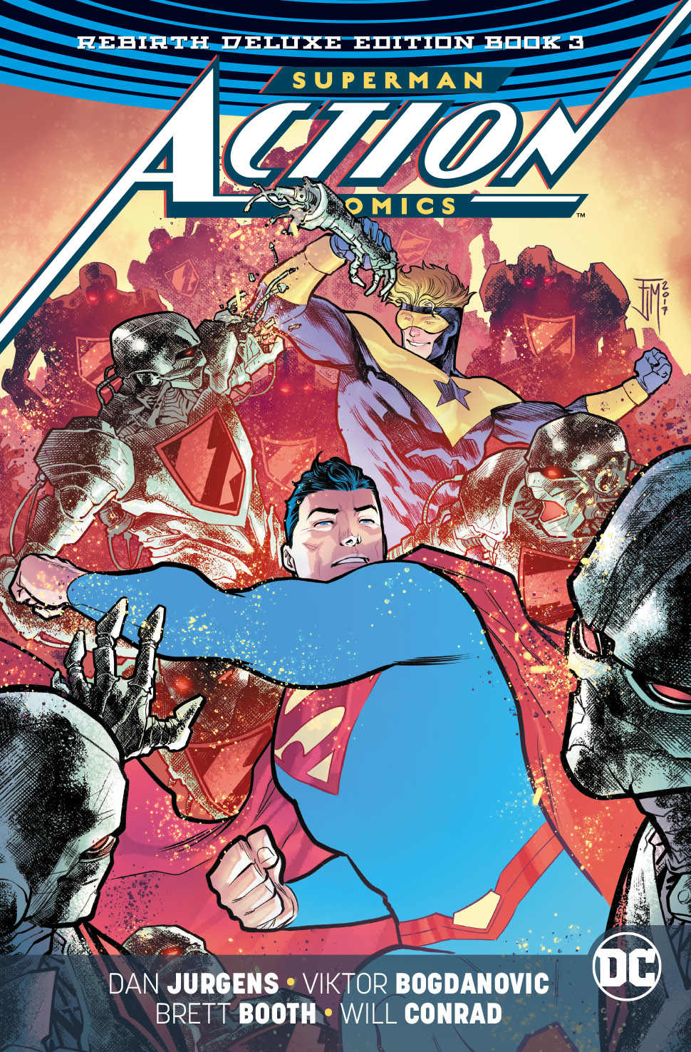 Action Comics: Volume 3 Deluxe Collection HC
