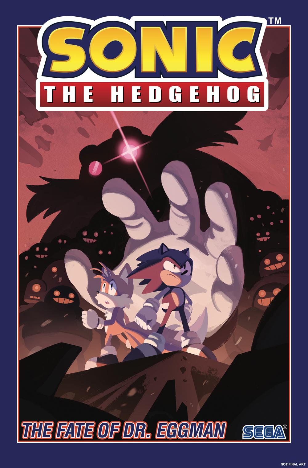 Sonic the Hedgehog Volume 2: Fate of Doctor Eggman TP