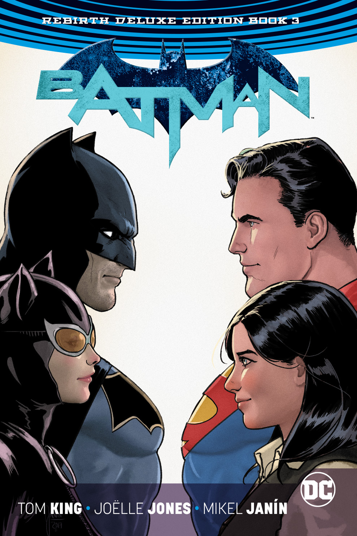 Batman Volume 3: Deluxe Edition HC (Rebirth)