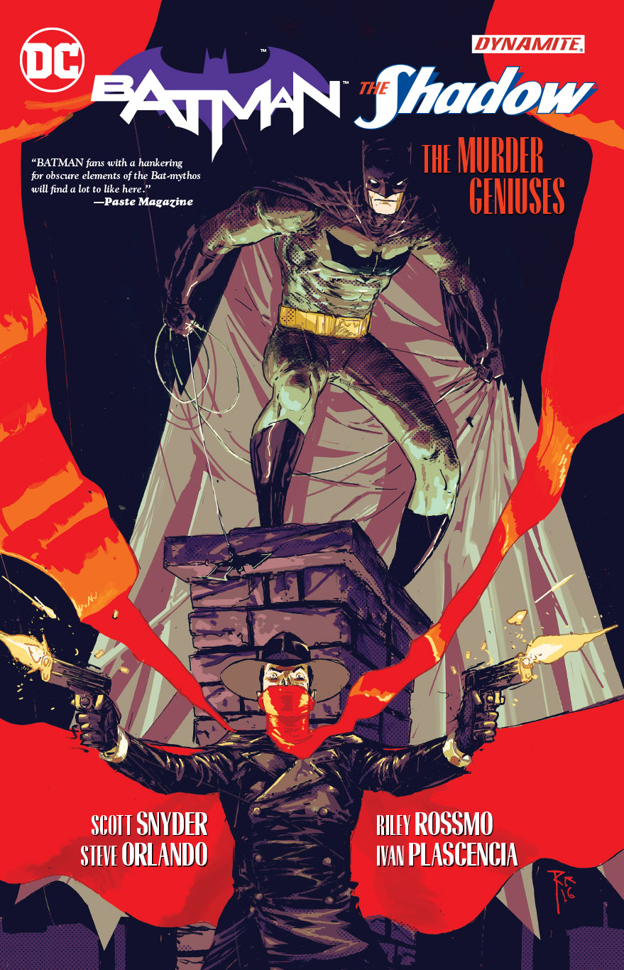 Batman and The Shadow: The Murder Geniuses TP