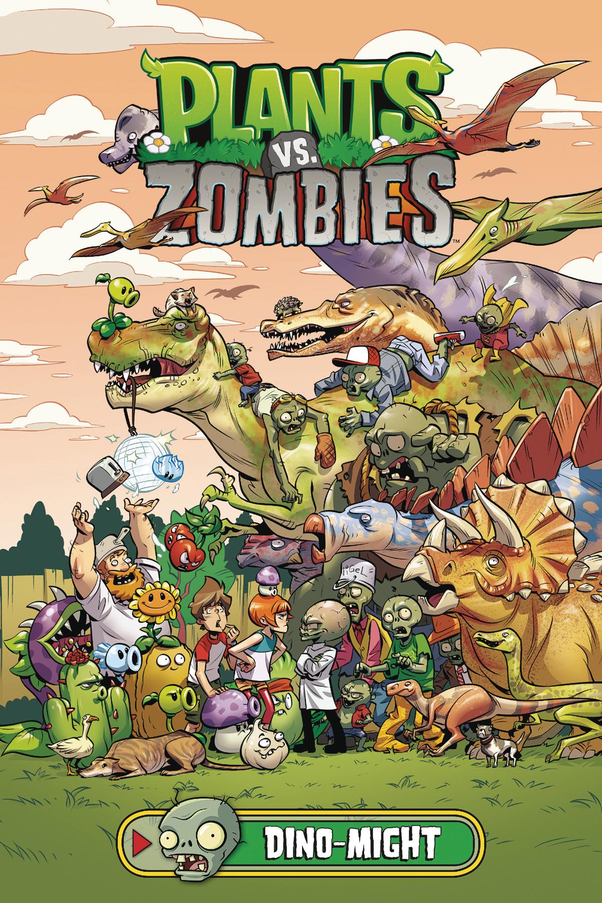 Plants vs Zombies: Dino Might HC