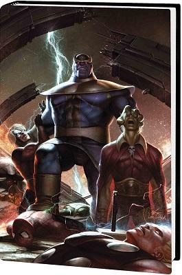 Thanos Wars: Infinity Origin Omnibus HC