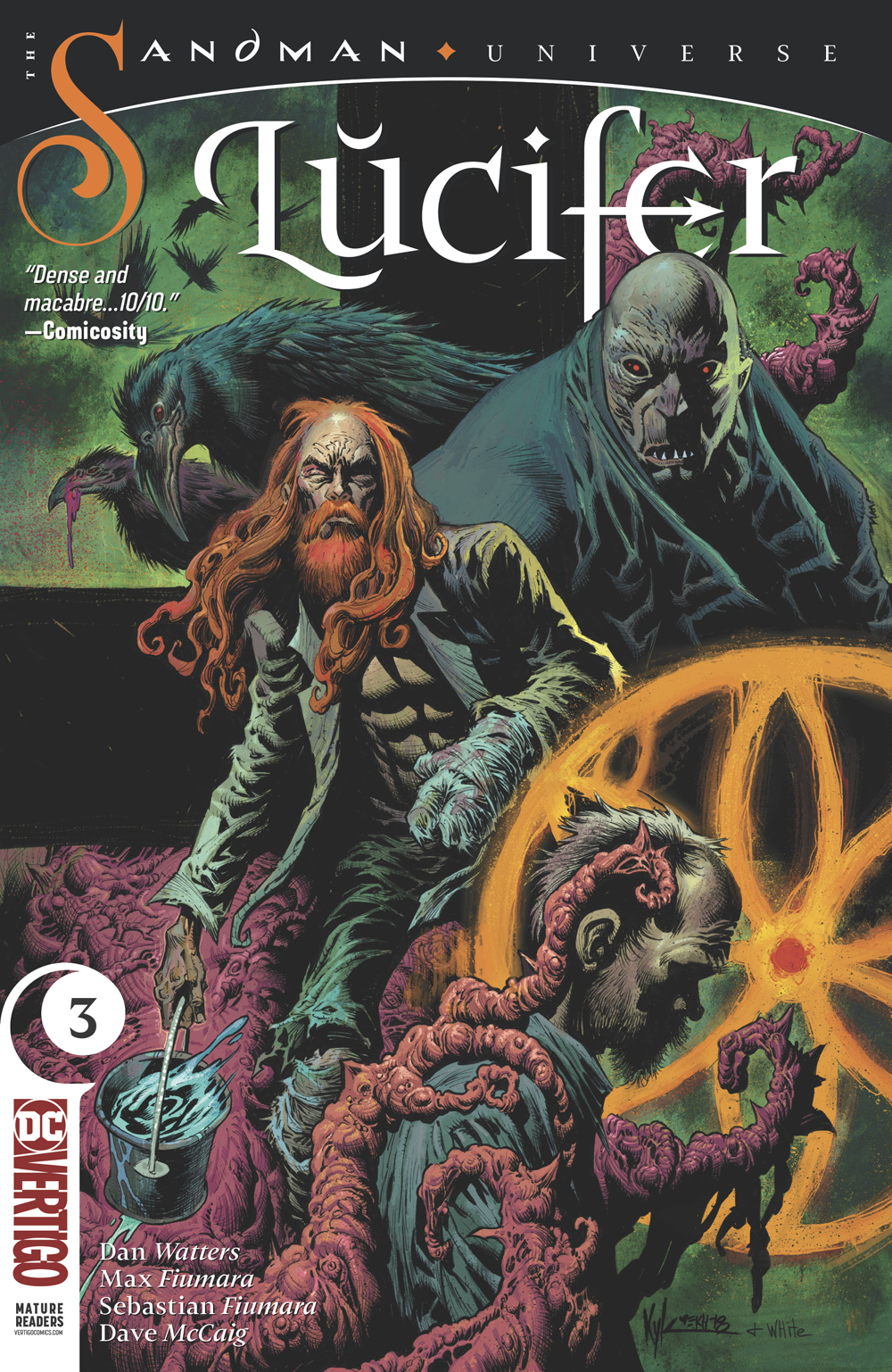 Lucifer no. 3 (2018 Series) (MR)