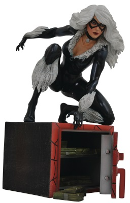 Marvel Gallery: Black Cat Comic PVC Statue