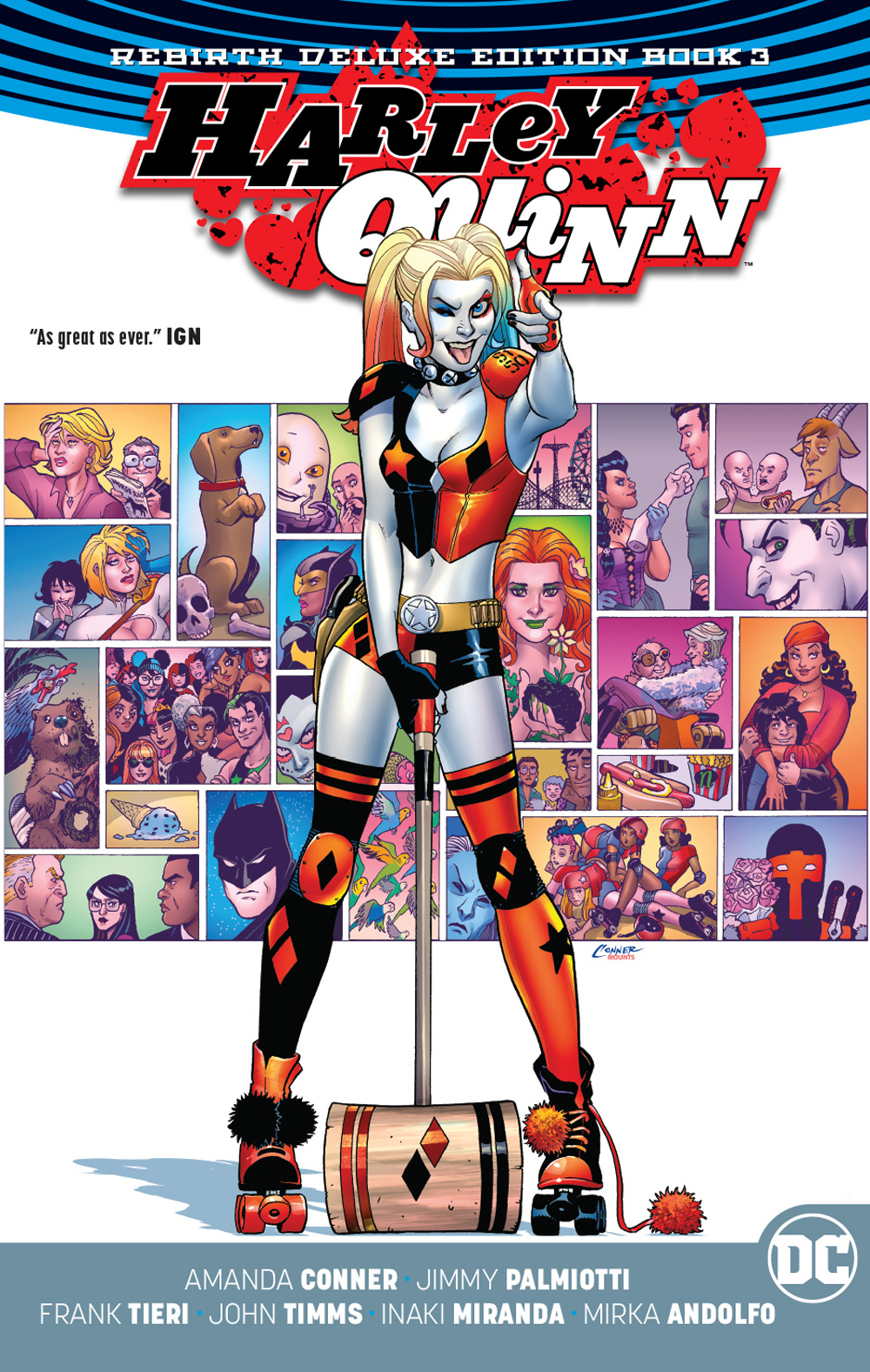 Harley Quinn: Volume 3 HC (Rebirth) (Deluxe Edition)