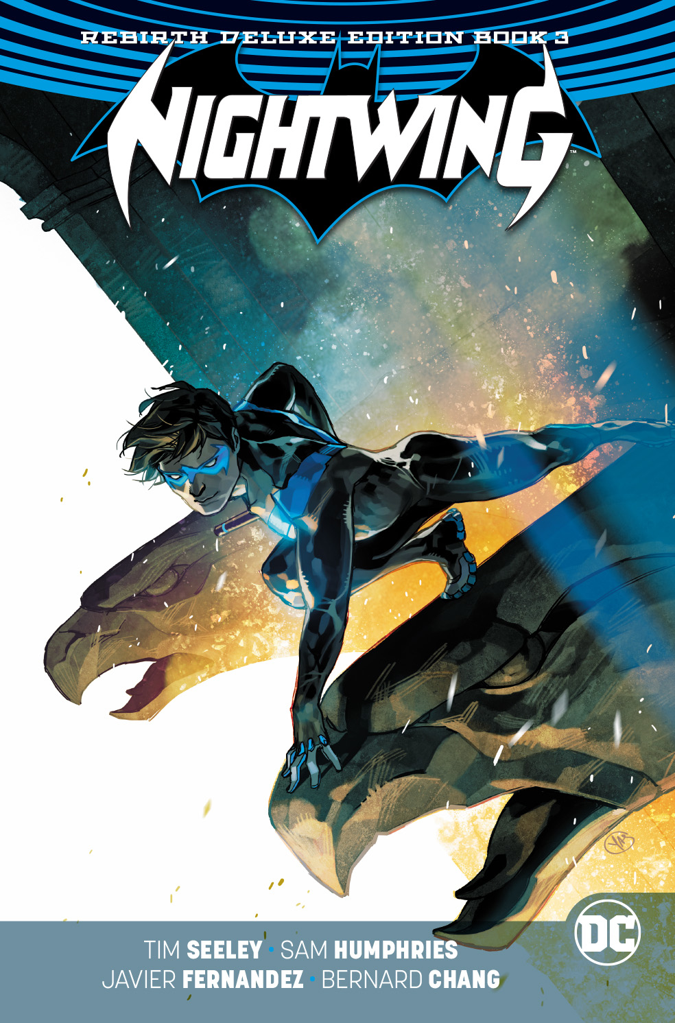 Nightwing: Volume 3 HC (Rebirth Deluxe Edition)