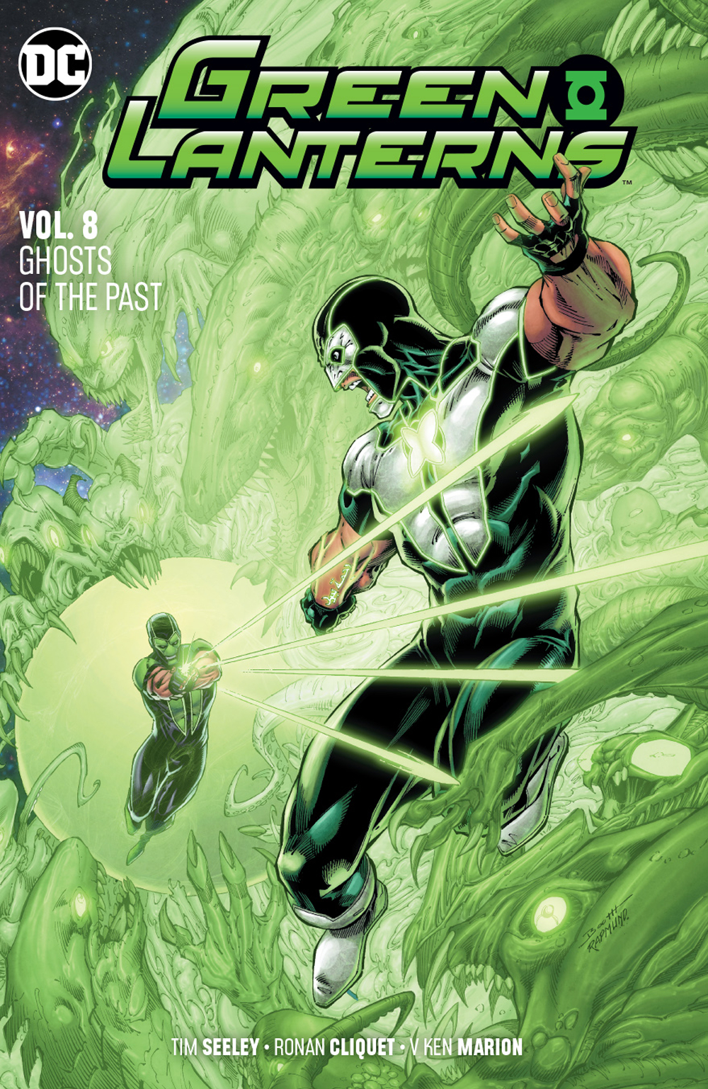 Green Lanterns: Volume 8: Ghosts of the Past
