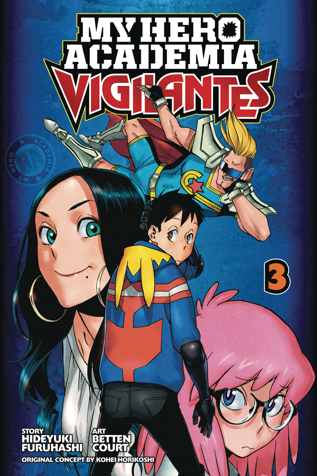My Hero Academia: Vigilantes Volume 3