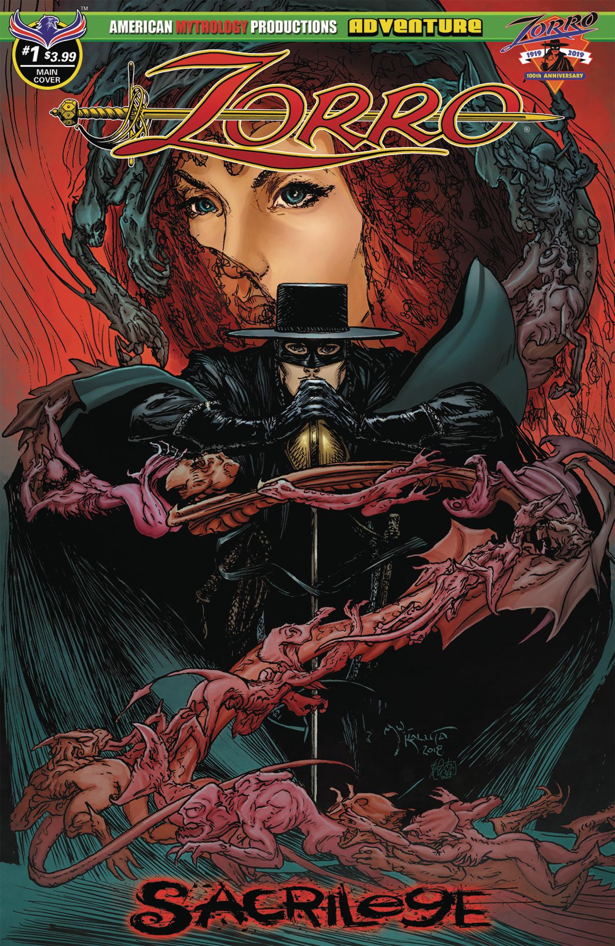 Zorro: Sacrilege no. 1 (2019 Series)