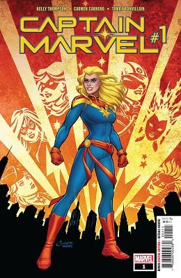 Captain Marvel no. 1 (2018 Series)