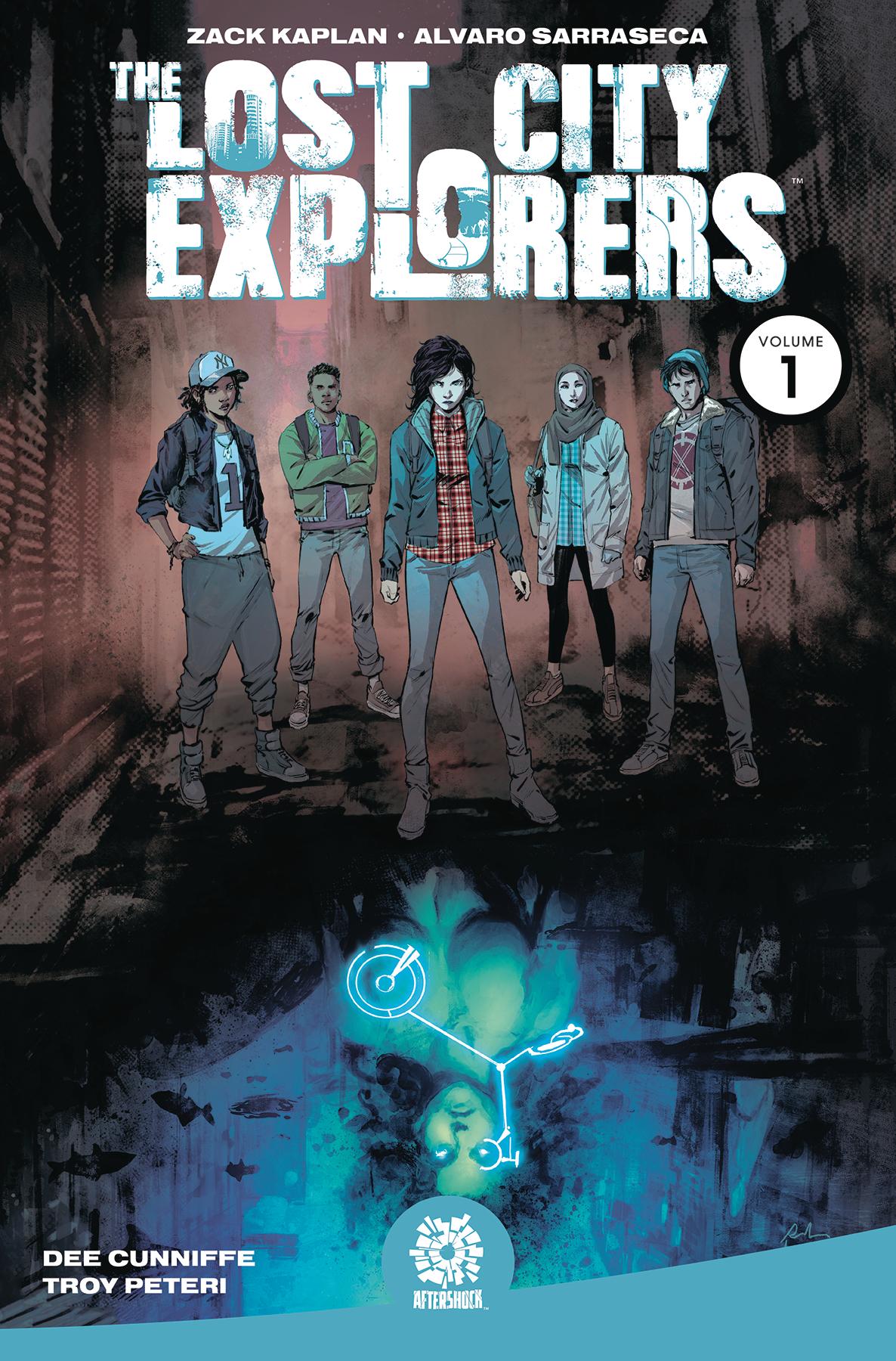 Lost City Explorers Volume 1: Odyssey TP