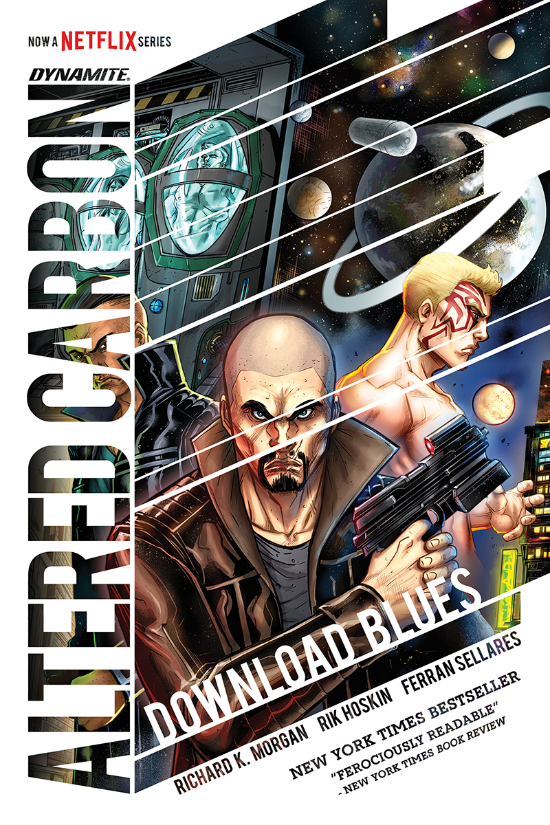 Altered Carbon: Download Blues HC