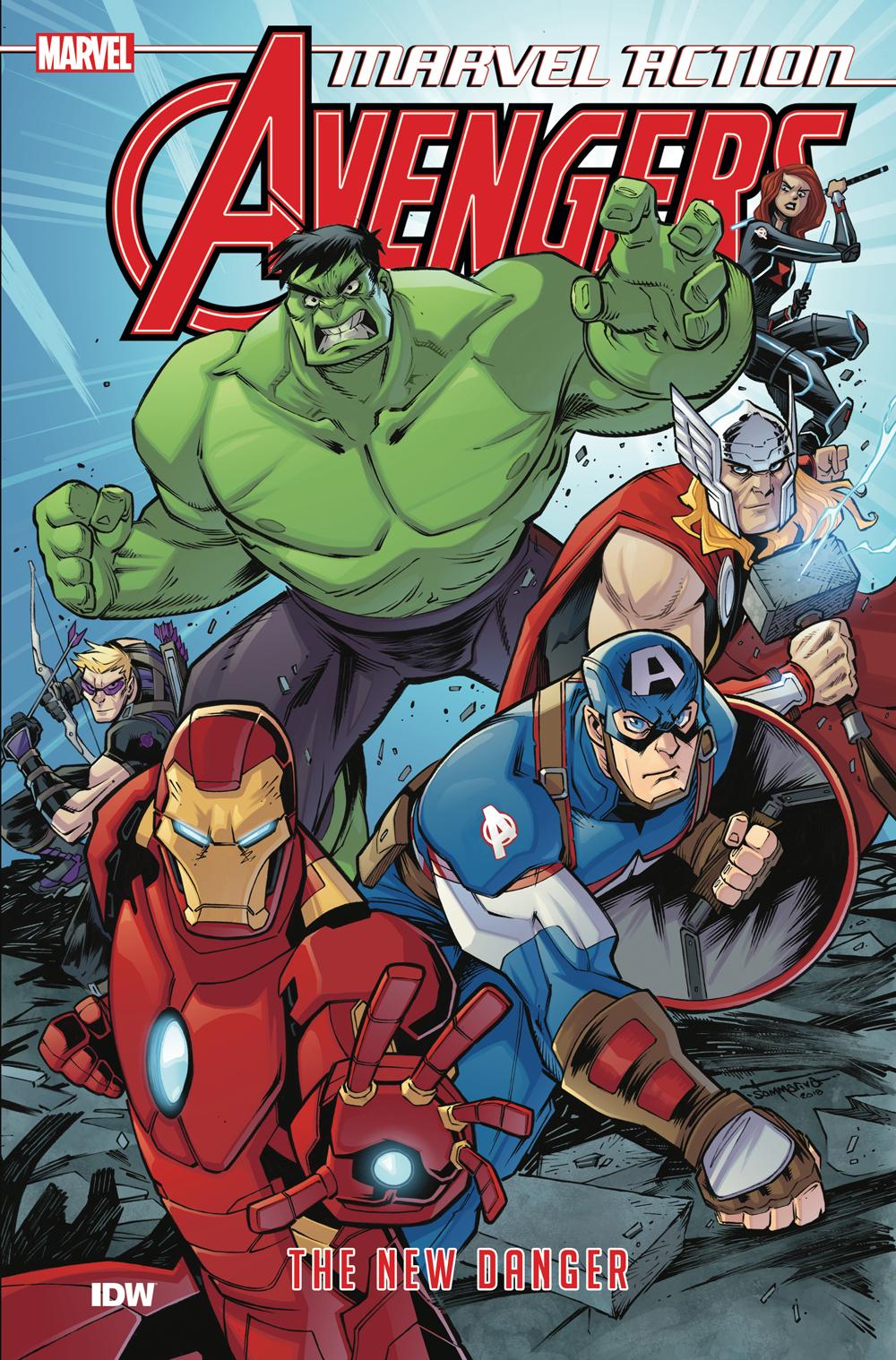Marvel Action: Avengers Book 1: New Danger TP