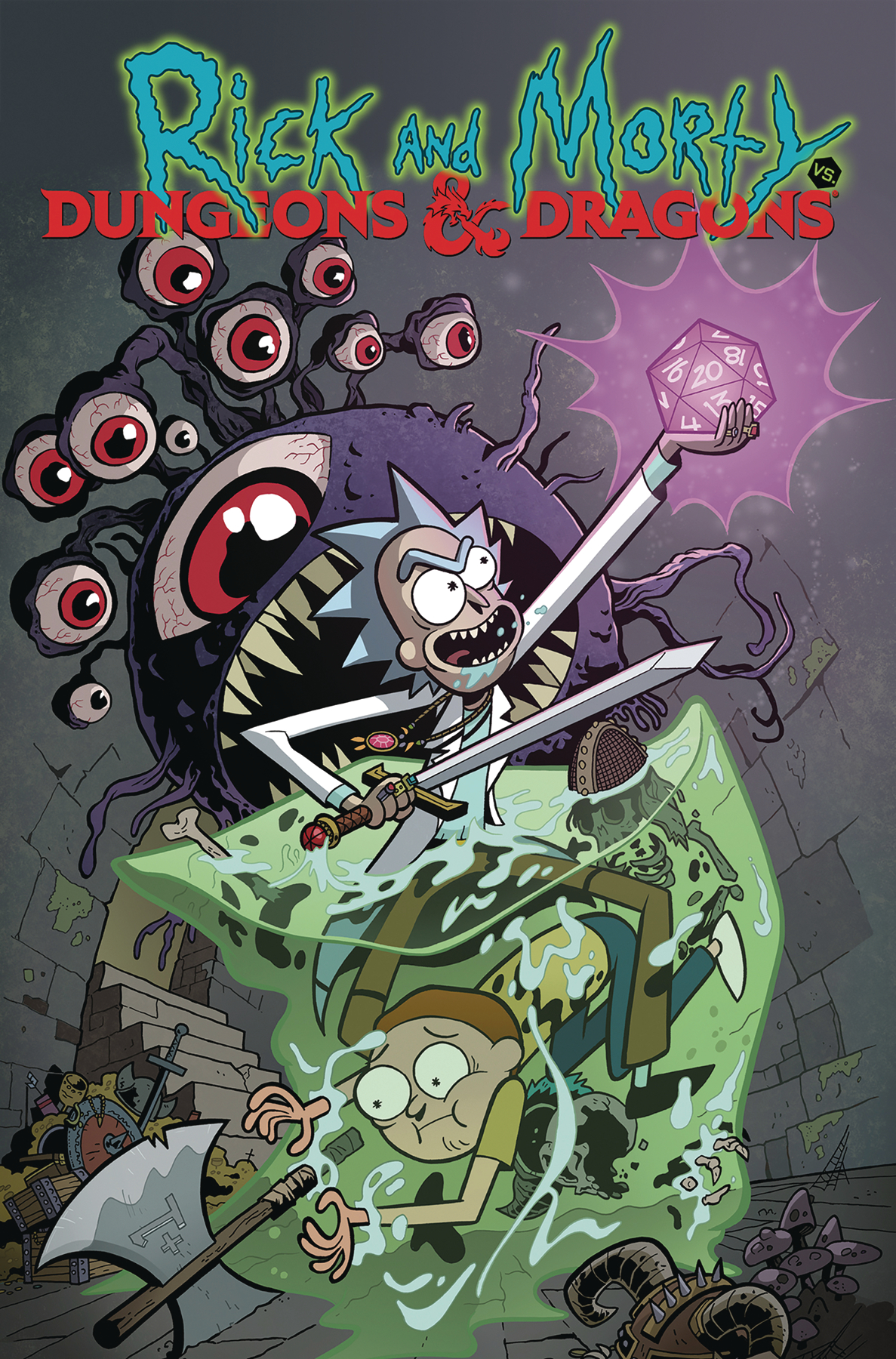 Rick and Morty vs Dungeons and Dragons Volume 1 TP