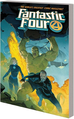 Fantastic Four Volume 1: Fourever TP