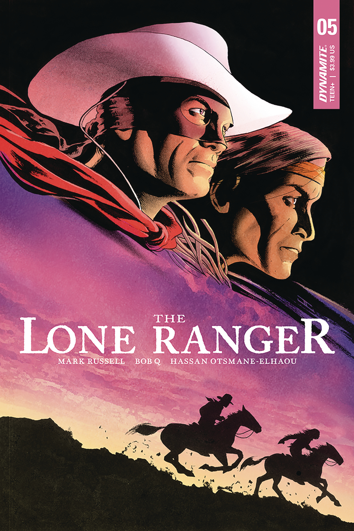 Lone Ranger no. 5 (2018 Series)