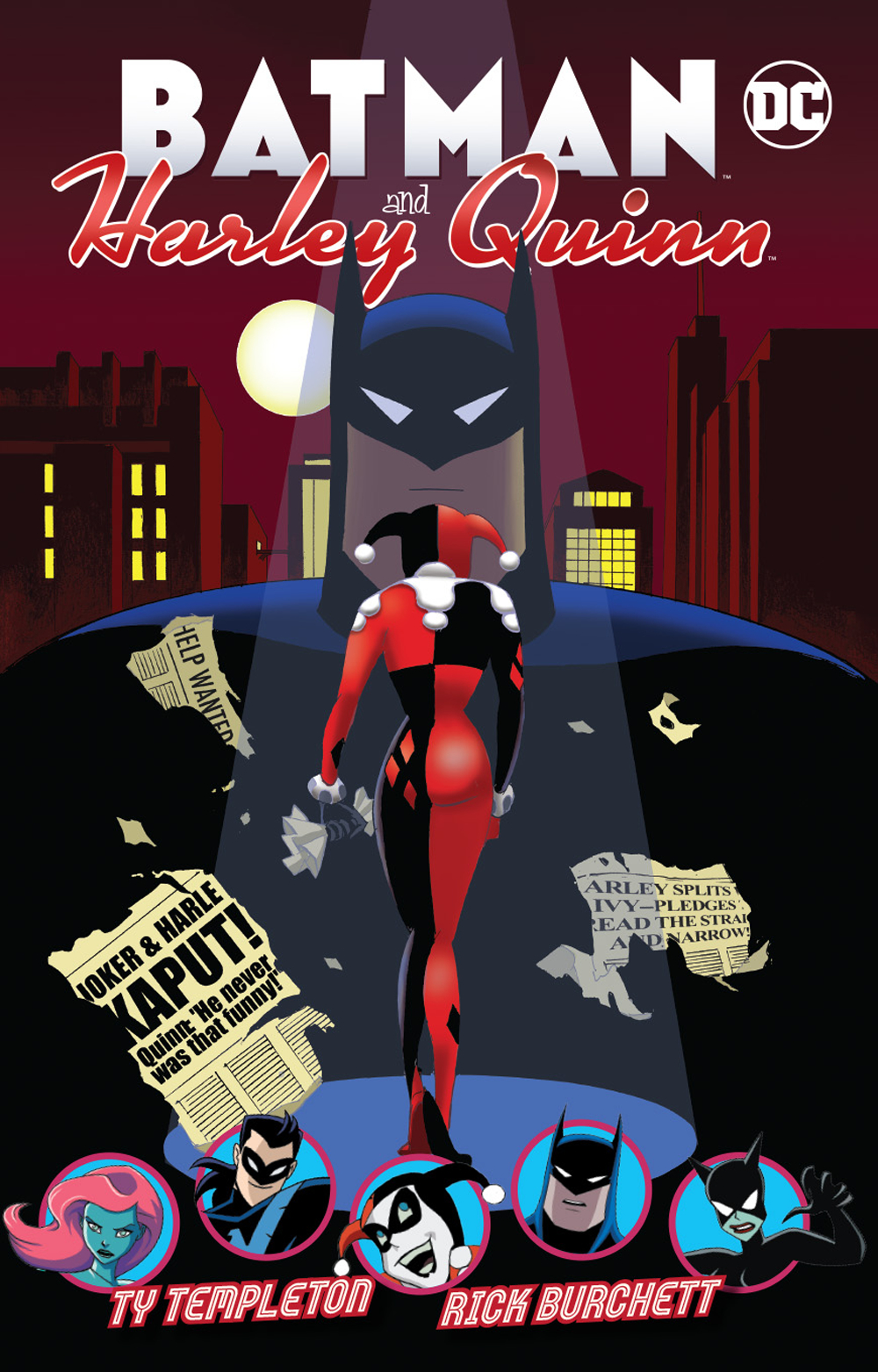 Batman and Harley Quinn TP