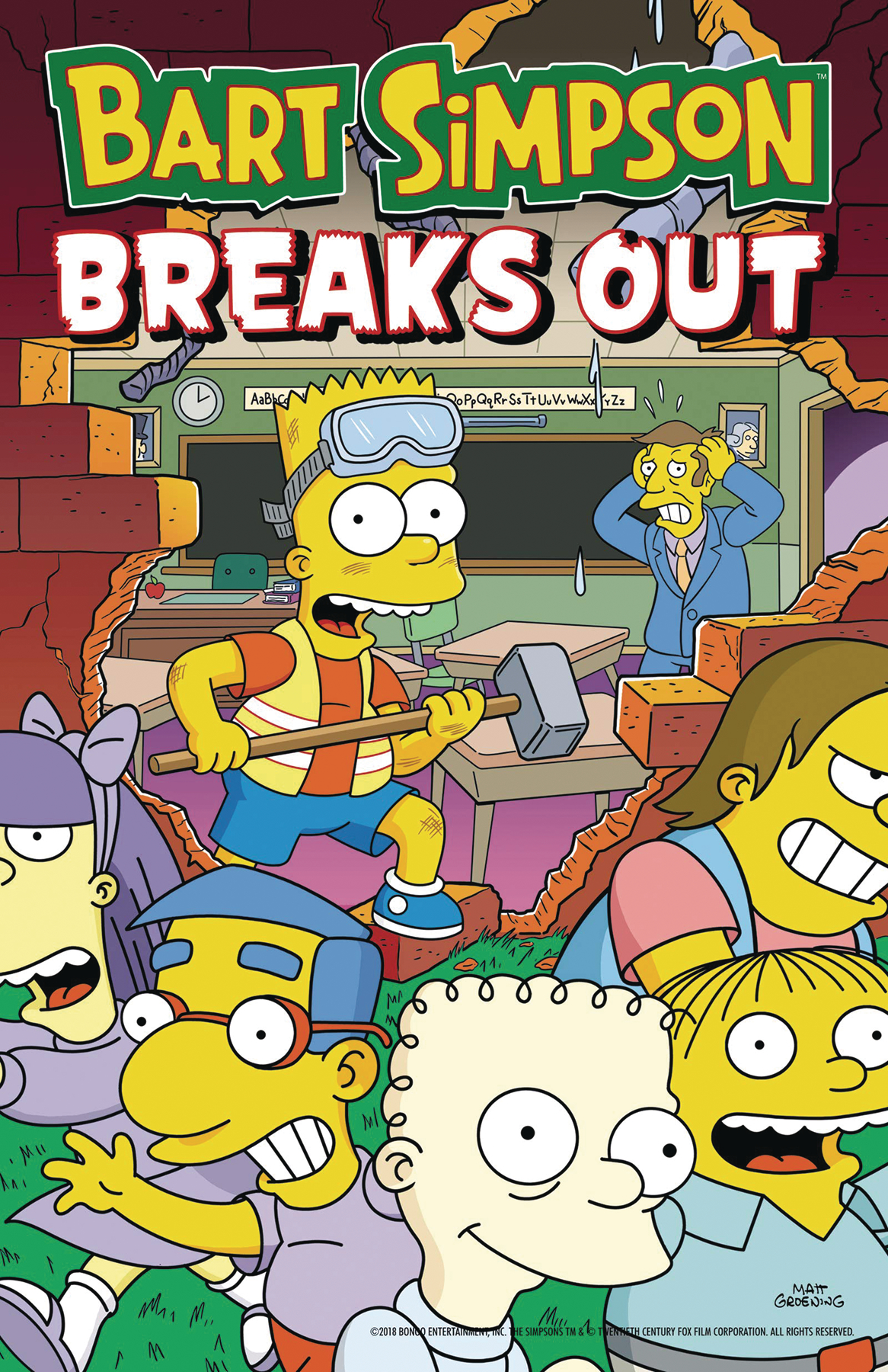 Bart Simpson: Breaks Out TP