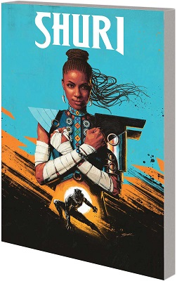Shuri Volume 1: Search for Black Panther TP