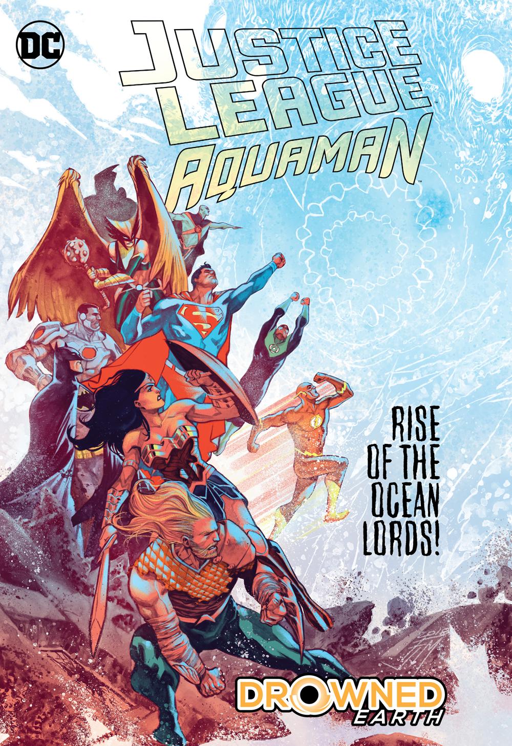 Justice League: Aquaman Drowned Earth HC