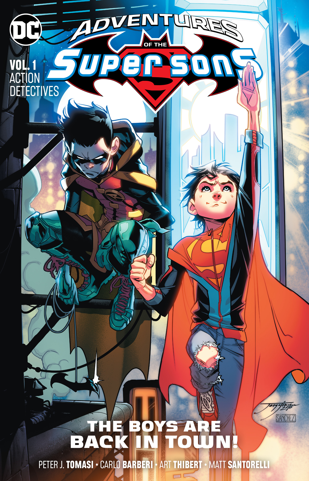 Adventures of the Super Sons Volume 1: Action Detectives TP