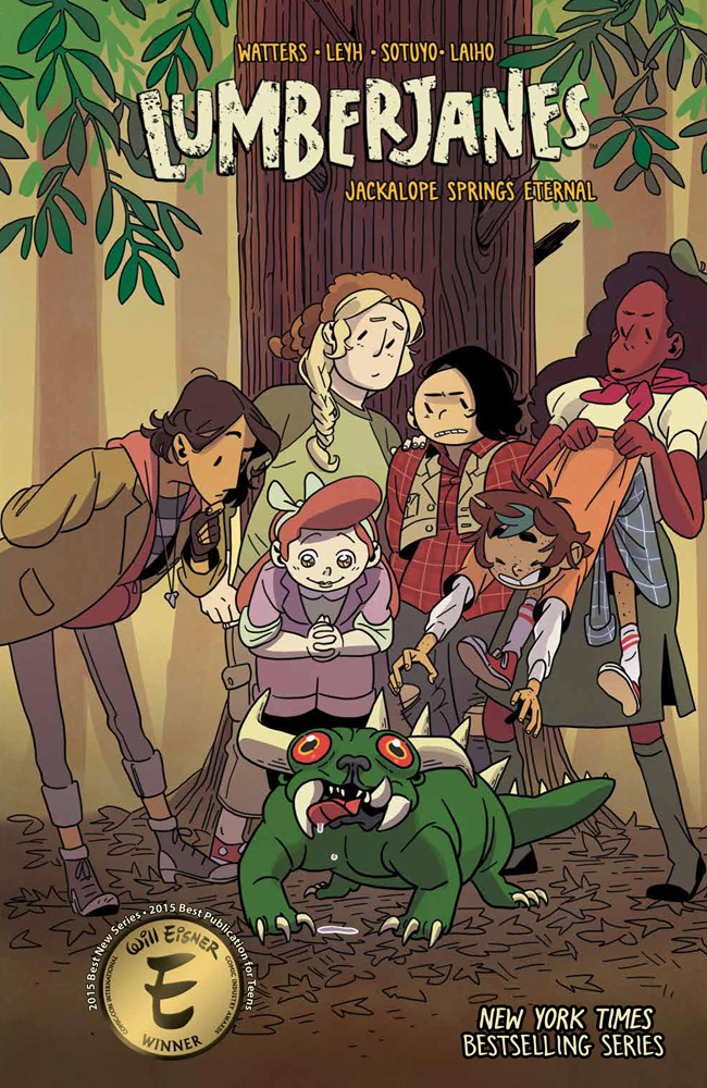 Lumberjanes: Volume 12 Jackalope Springs Eternal TP