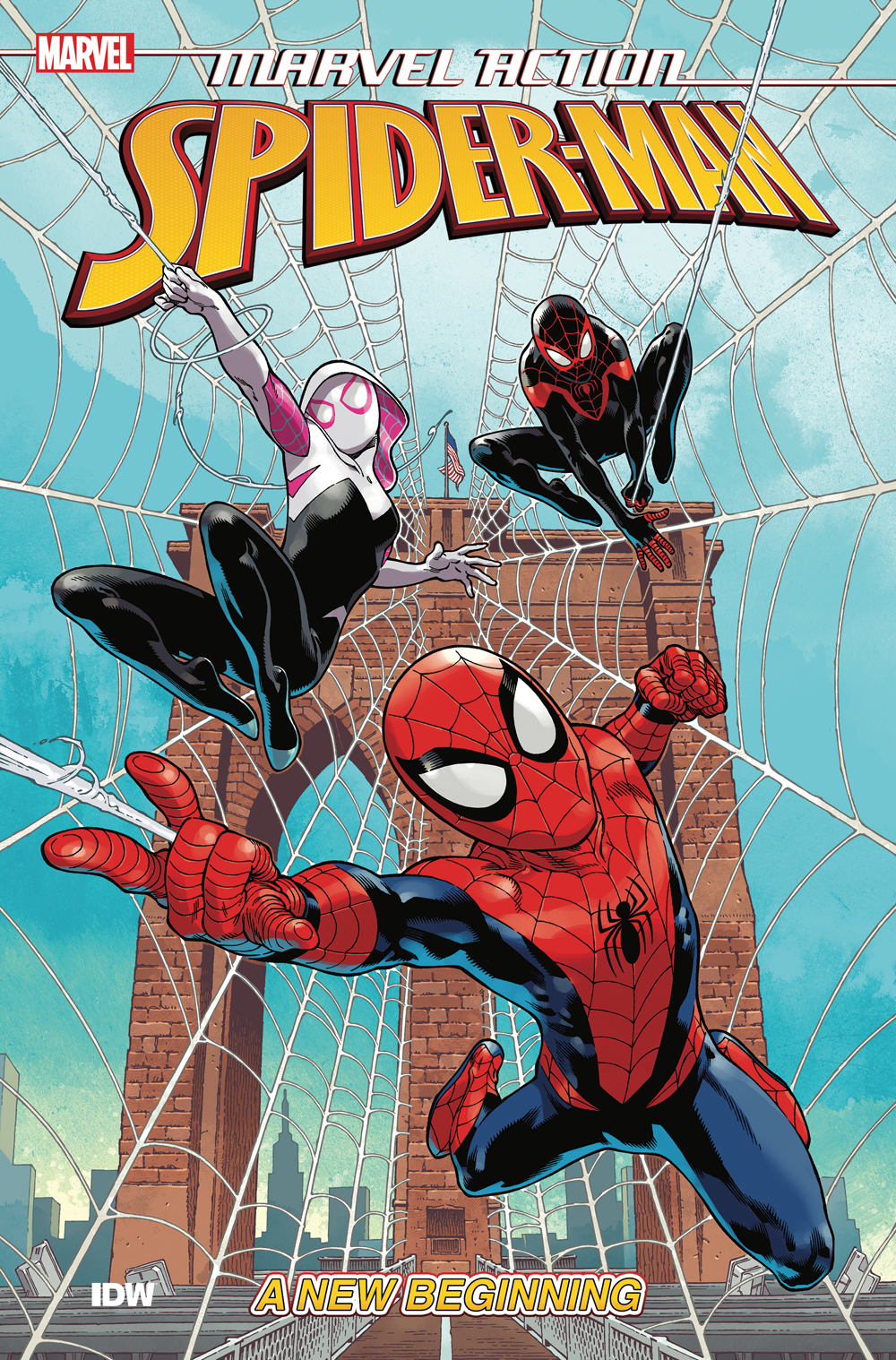 Marvel Action Spider-Man: Book 1: New Beginning TP