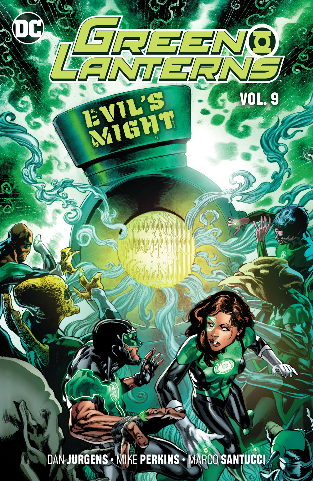 Green Lanterns: Volume 9: Evil's Might TP