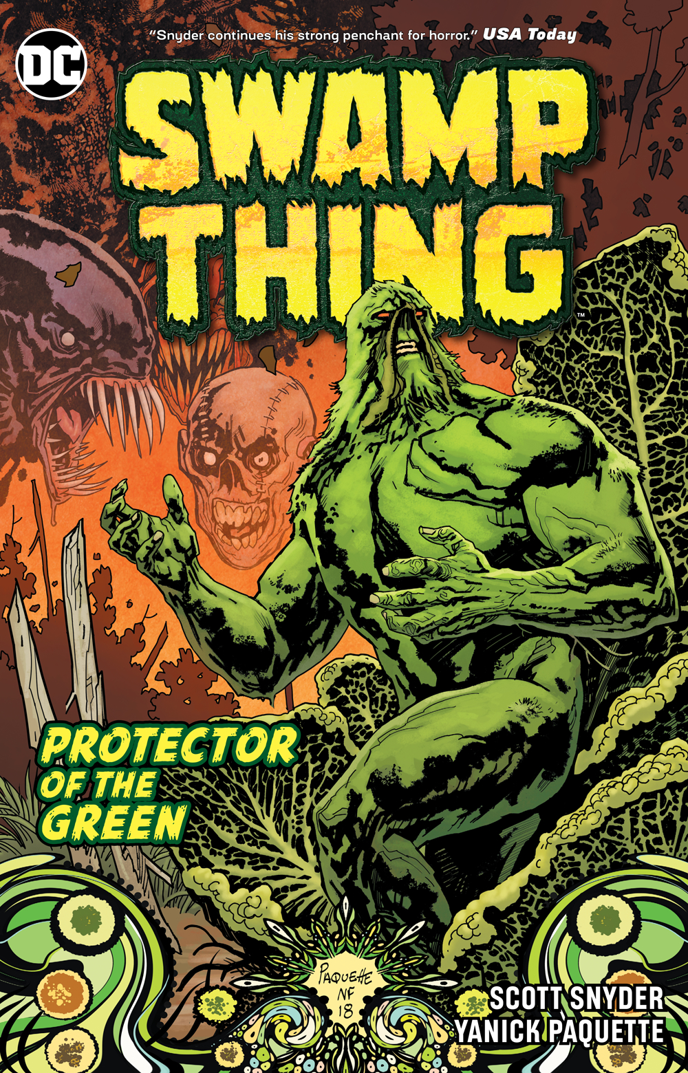 Swamp Thing Essential Edition: Protector of the Green TP