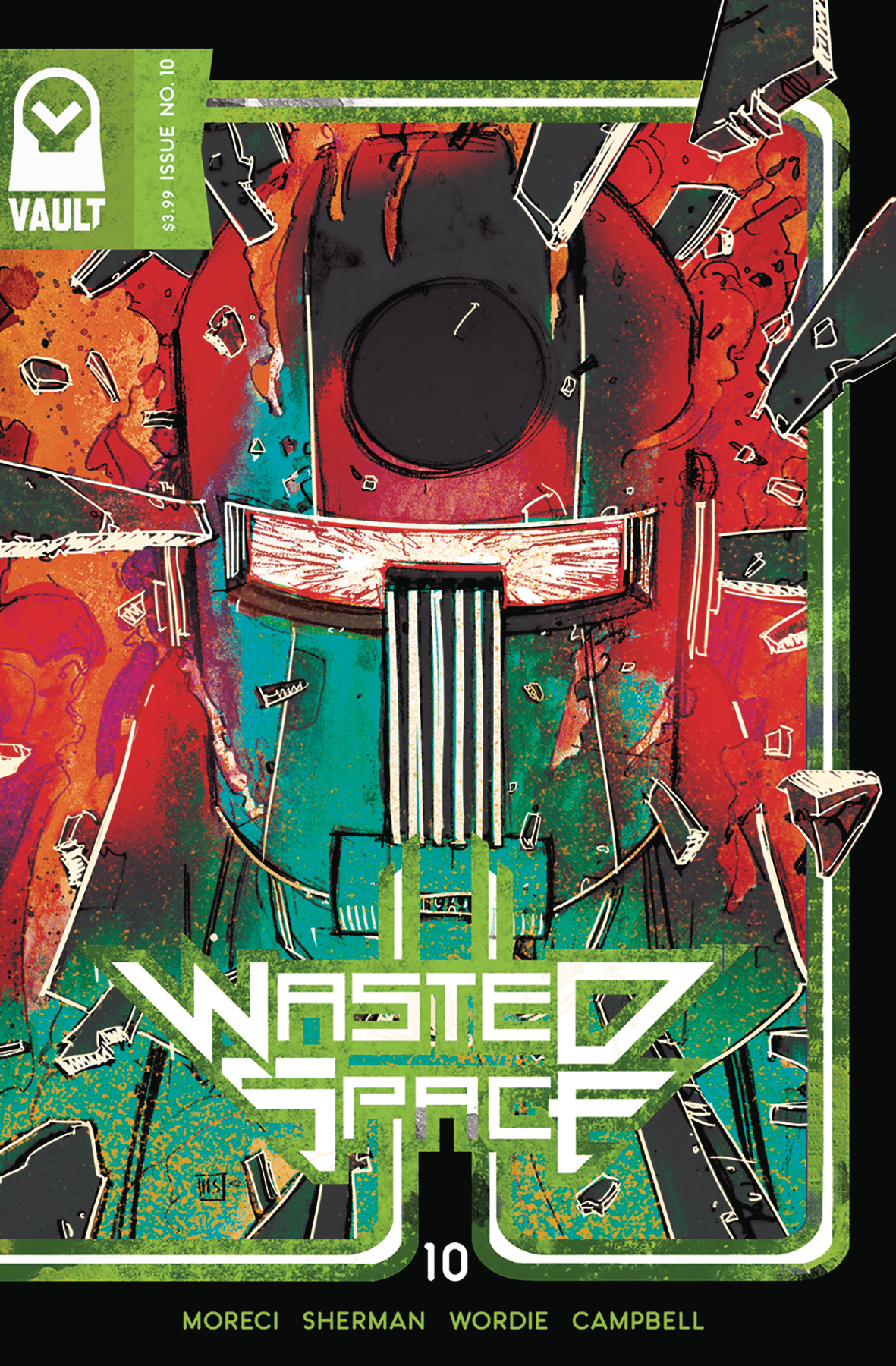 Wasted Space no. 10 (2018 Series) (MR)