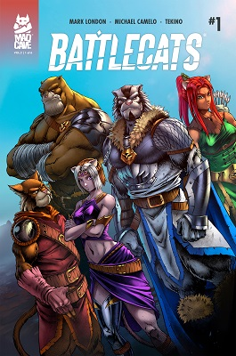 Battlecats Volume 2 no. 1 (2019 Series)