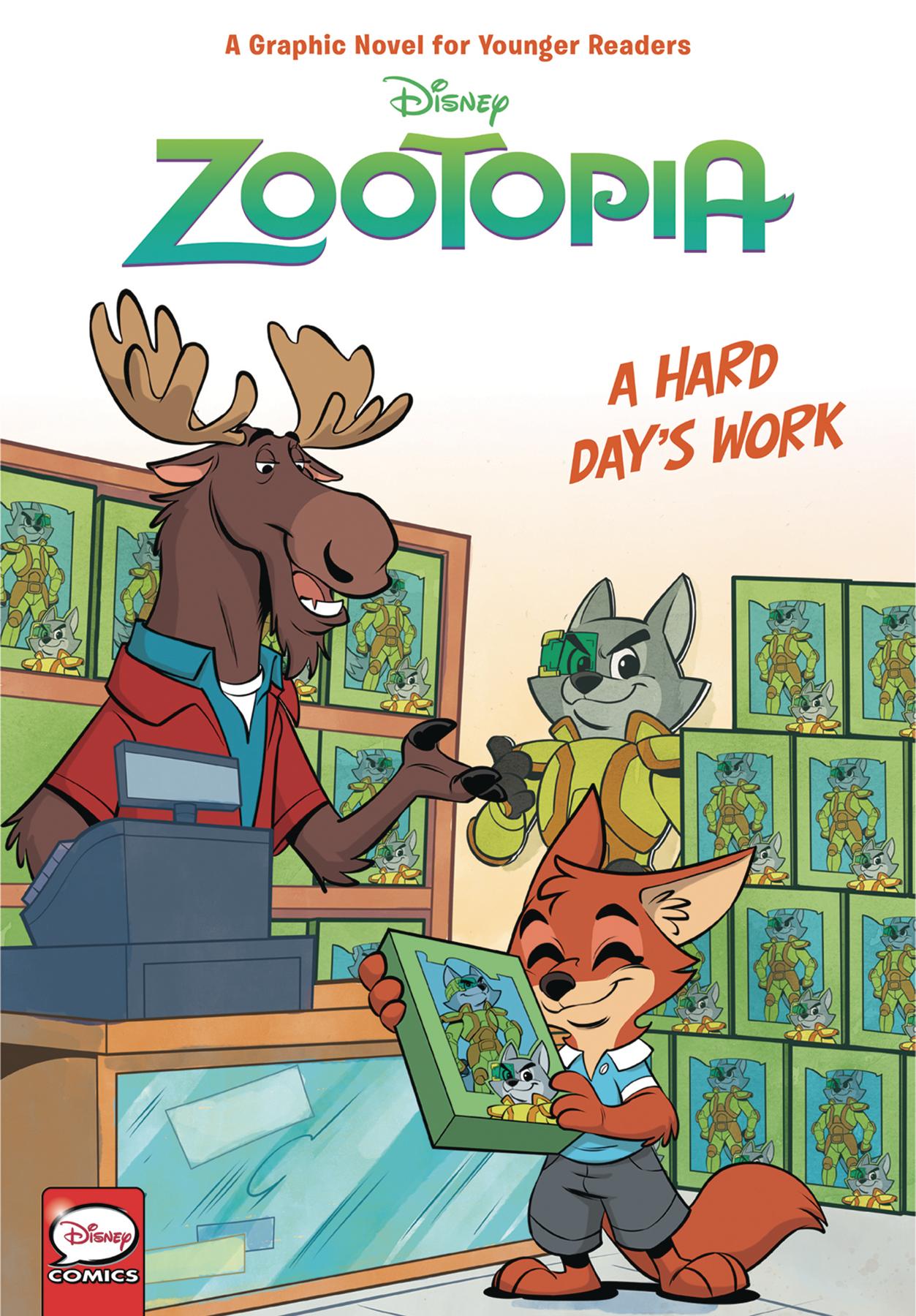 Disney Zootopia: Hard days Work HC