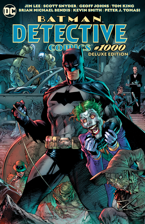 Detective Comics no. 1000 Deluxe Edition HC