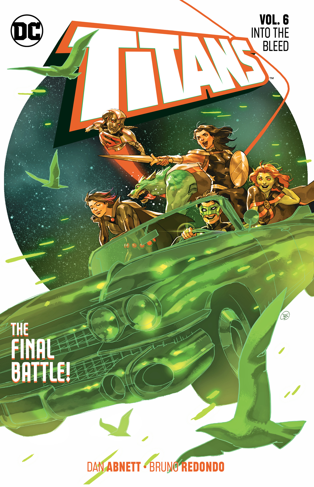 Titans Volume 6: Into the Bleed TP