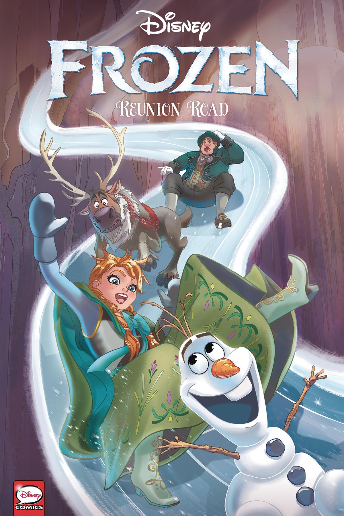 Disney: Frozen: Reunion Road TP