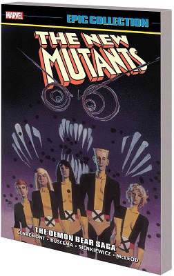 New Mutants Epic Collection: Demon Bear Saga TP