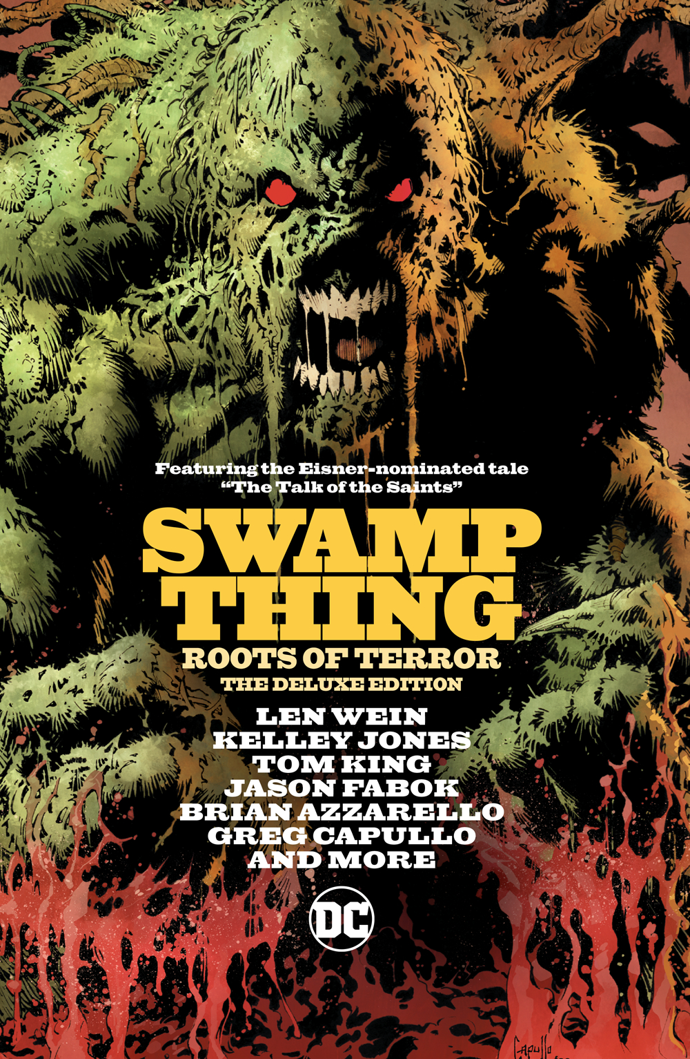 Swamp Thing Deluxe Edition: Roots of Terror HC