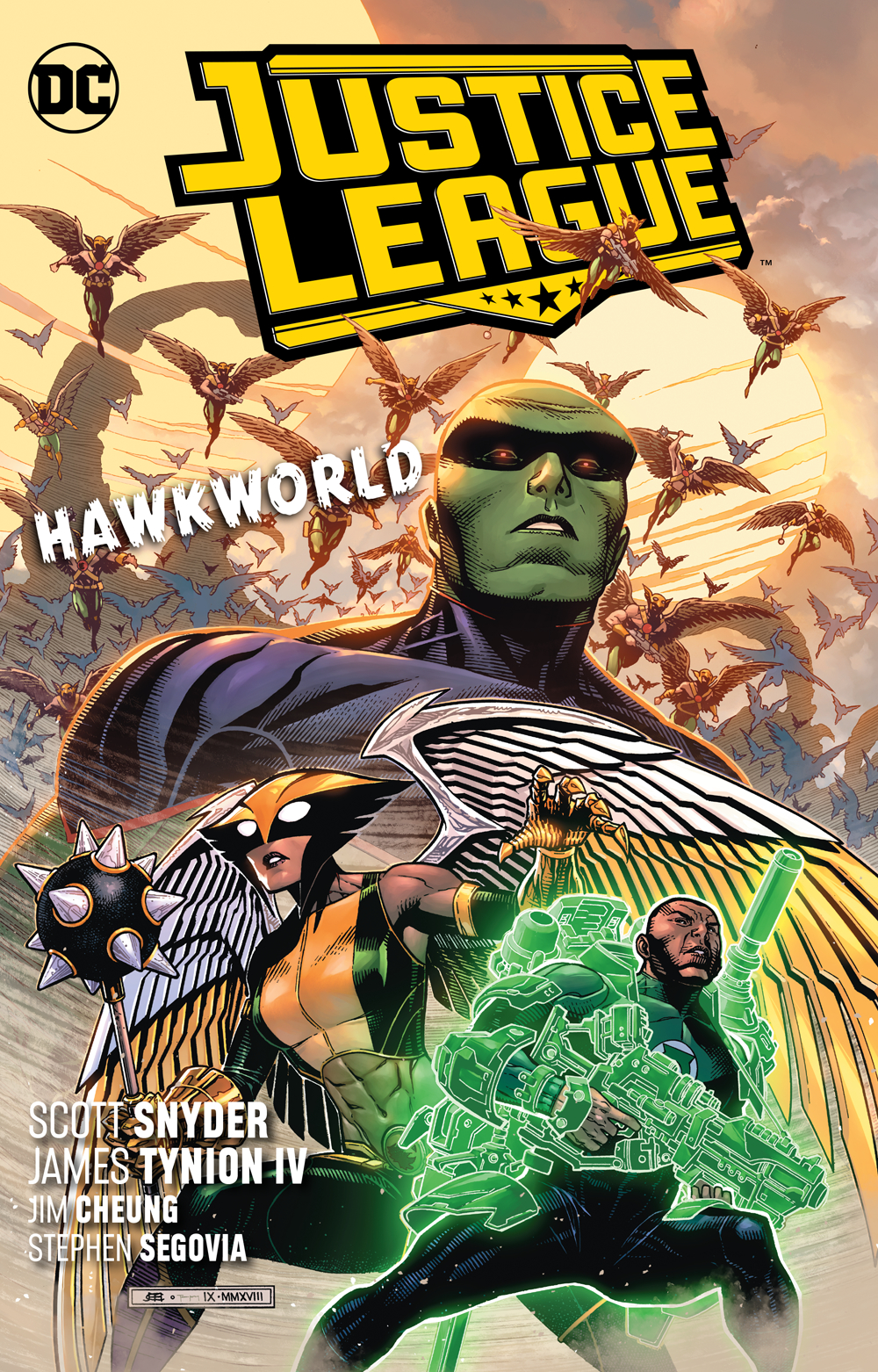 Justice League Volume 3: Hawkworld TP