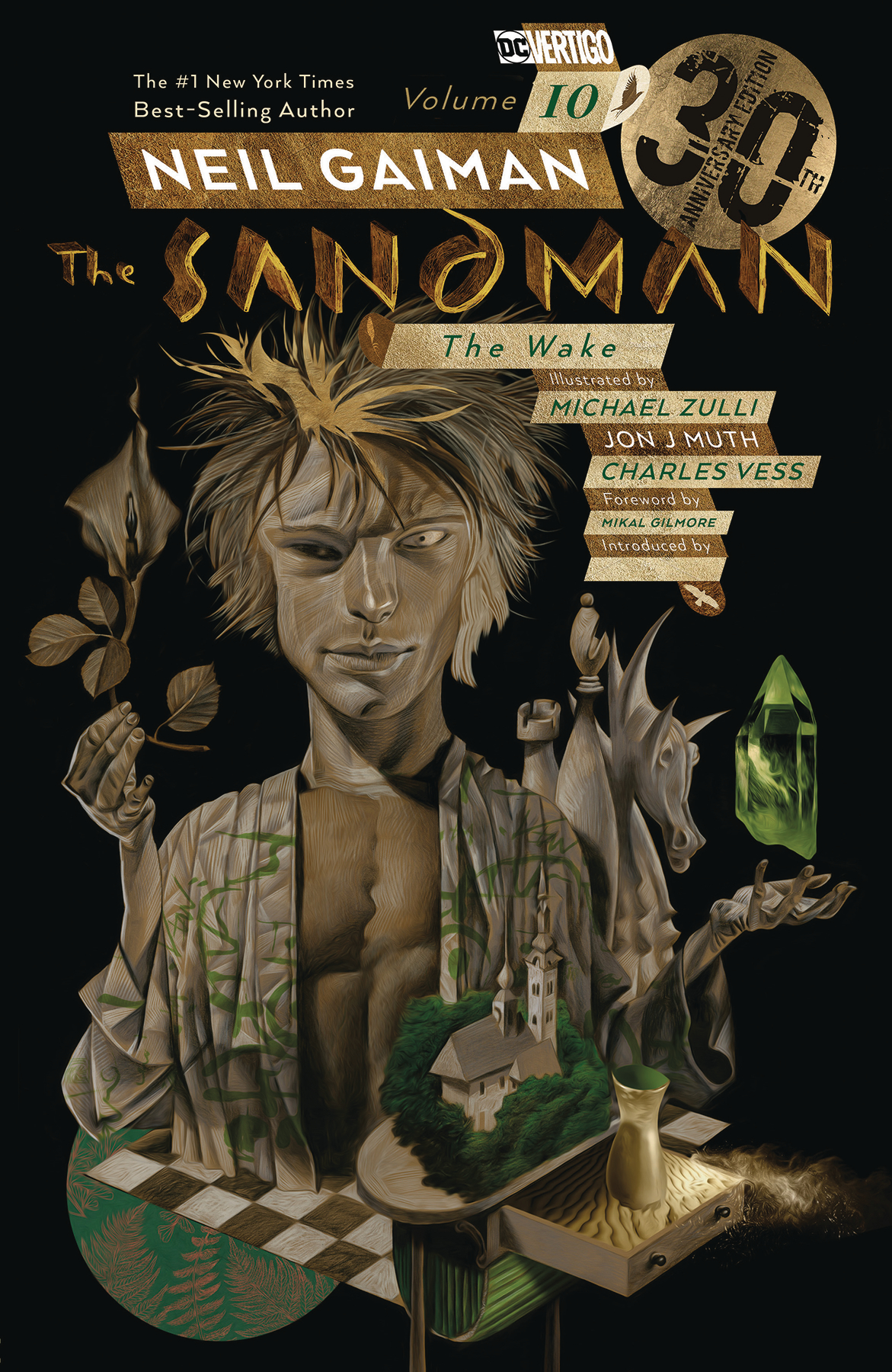 The Sandman: Volume 10: The Wake (30th Anniversary) TP